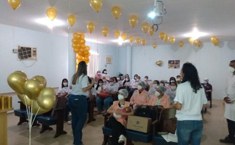 HRDV celebra 'Agosto Dourado' com evento sobre aleitamento materno