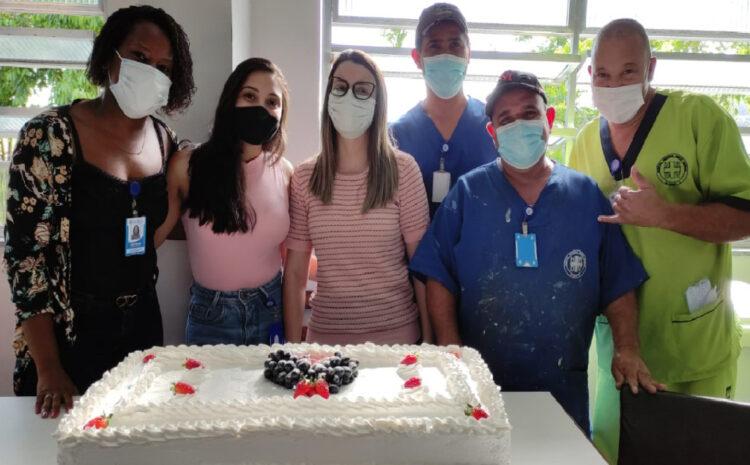 HRDV promove segunda confraternização para os aniversariantes do mês