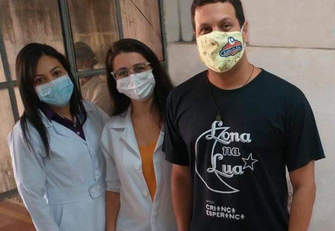 Centro de Oncologia do HRDV recebe cestas básicas do projeto Lona na Lua