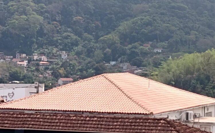 Primeira etapa da reforma do telhado é concluída nesta segunda-feira